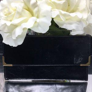 🦋3/$25 Black Leather Wallet